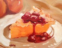 Cherry Peach Pie
