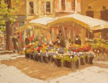 Flower Market in Aix