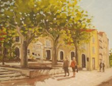 Plane Trees in Cassis