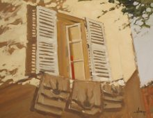Sunny Window, Villefranche